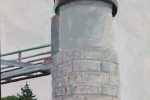 """Fort Clyde Lighthouse"" by Fred Danziger"