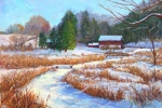 Carversville in Winter